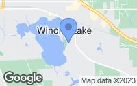 Map of Winona Lake, IN