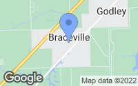 Map of Braceville, IL
