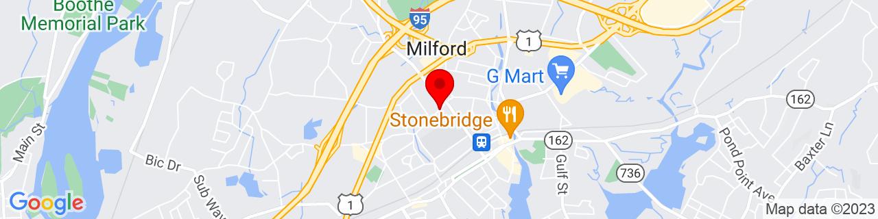 Google Map of 41.2257578, -73.0648647