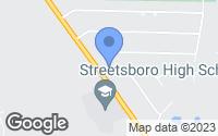 Map of Streetsboro, OH
