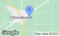 Map of Churubusco, IN