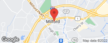 Map of 601 Boston Post Rd in Milford