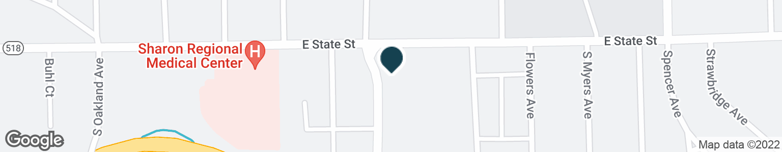 Google Map of900 E STATE ST