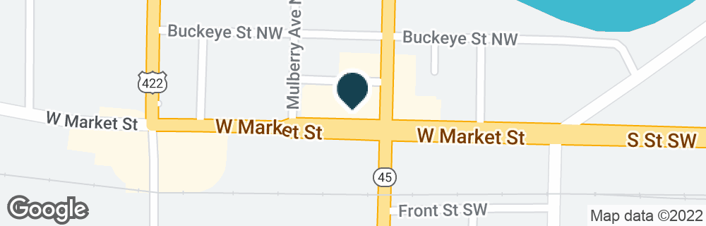 Google Map of804 W MARKET ST