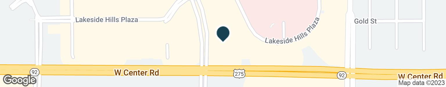 Google Map of2605 S 171ST ST