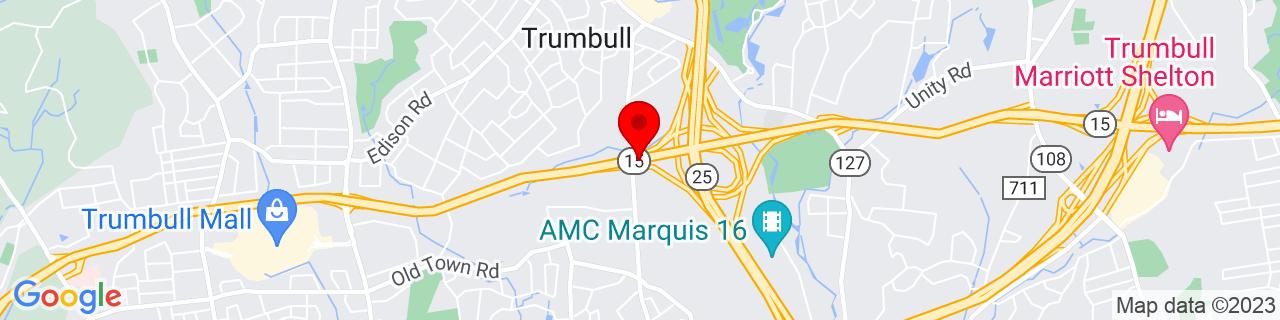 Google Map of 41.2349159, -73.19528450000001