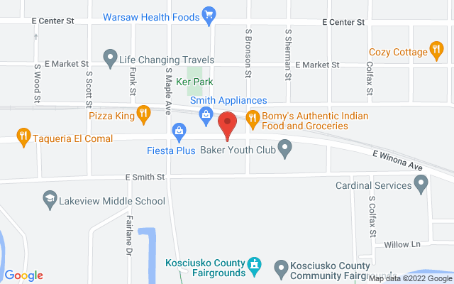 static image of 1128 East Winona Avenue, Suite A2, Warsaw, Indiana