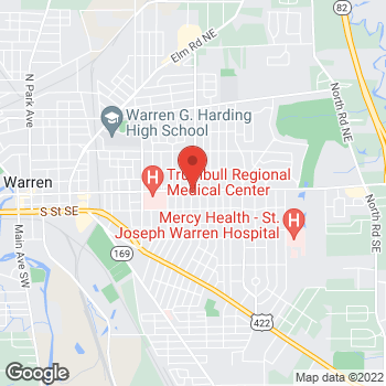 Map of Ramamurthy Alam, MD at 1910 East Market Street, Warren, OH 44483