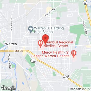 Map of Tara Shipman, MD at 1651 East Market Street, Warren, OH 44483