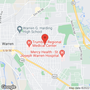 Map of Michael Biggin, PA at 2219 East Market Street, Warren, OH 44483