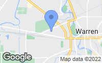 Map of Warren, OH
