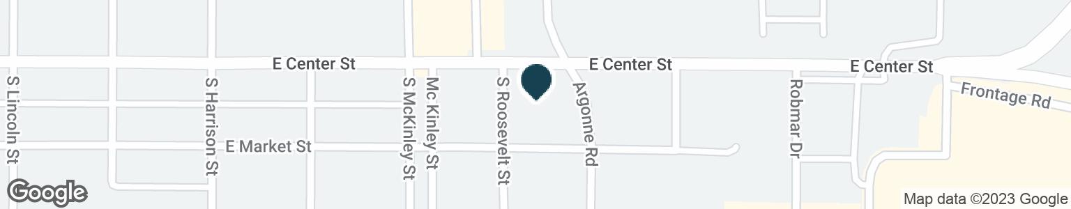 Google Map of2400 E CENTER ST