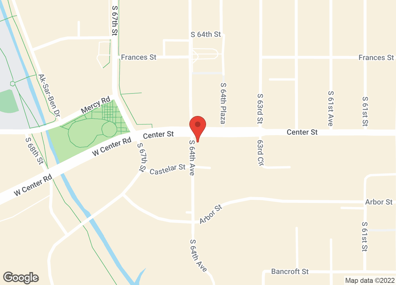 Google Map of VCA Animal Medical Center of Omaha