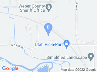 Map of Abbys Dog House Dog Boarding options in Ogden | Boarding