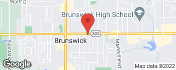 Map of 4098 Center Rd in Brunswick