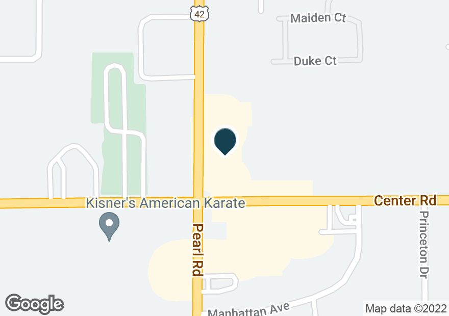 Google Map of1337 PEARL RD