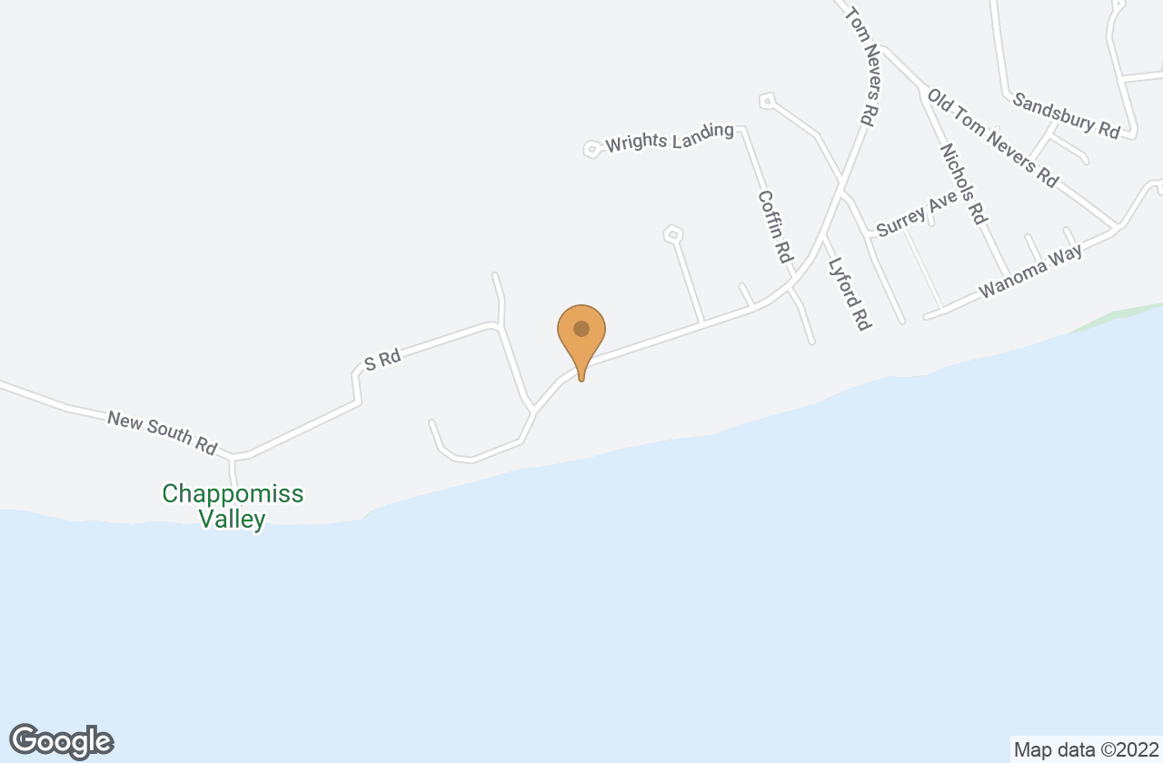Google Map of 122 Tom Nevers Rd