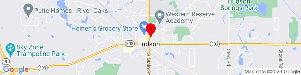 Google Map of 41.2416924, -81.4397058