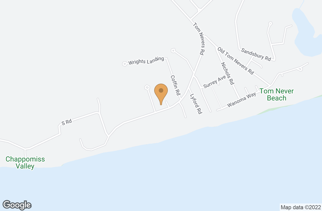 Google Map of 97 Tom Nevers Road, Nantucket, MA, USA