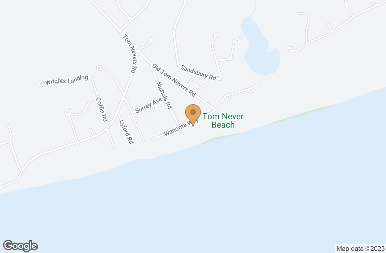 Google Map of 27 Wanoma Way, Nantucket, MA, USA