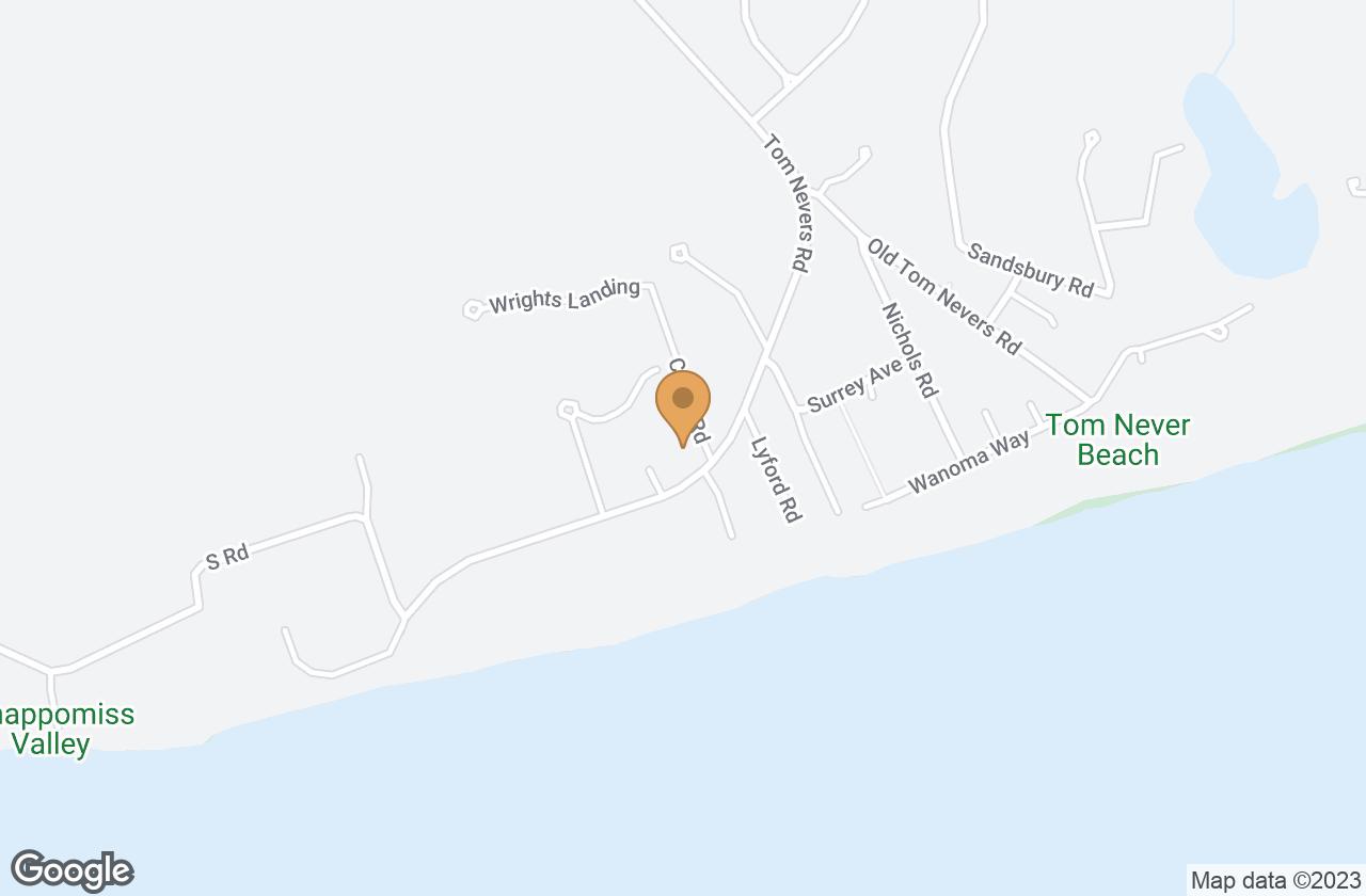 Google Map of 7 Coffin Road, Nantucket, MA, USA