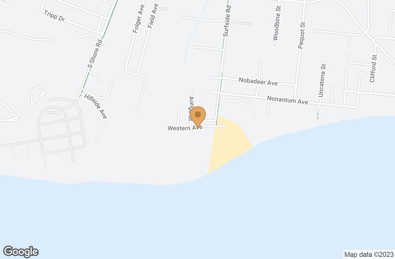 Google Map of 20 Western Avenue, Nantucket, MA, USA