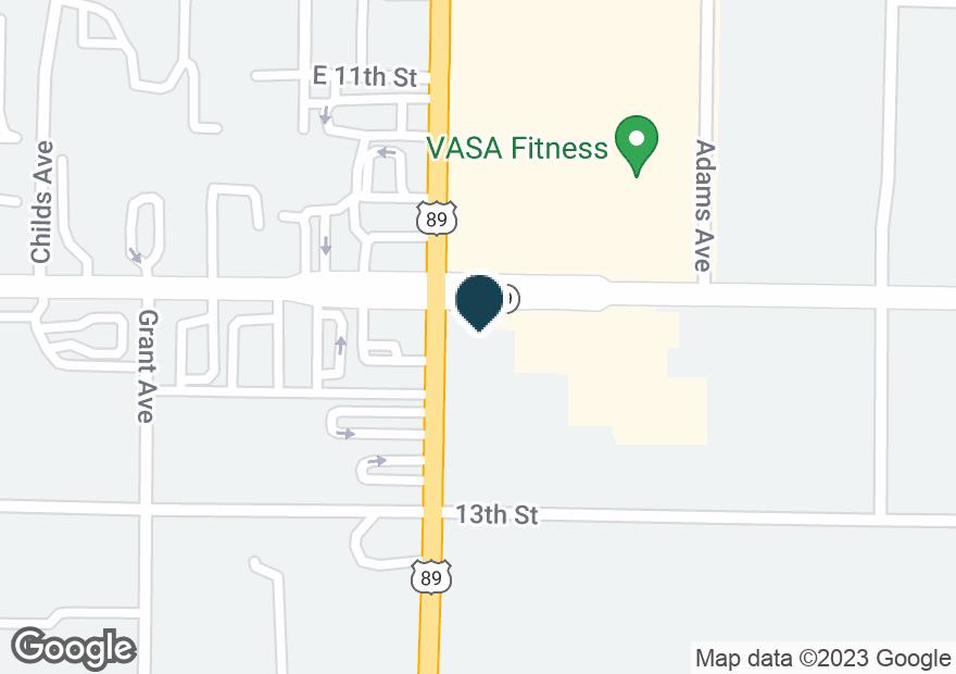 Google Map of1208 WASHINGTON BLVD