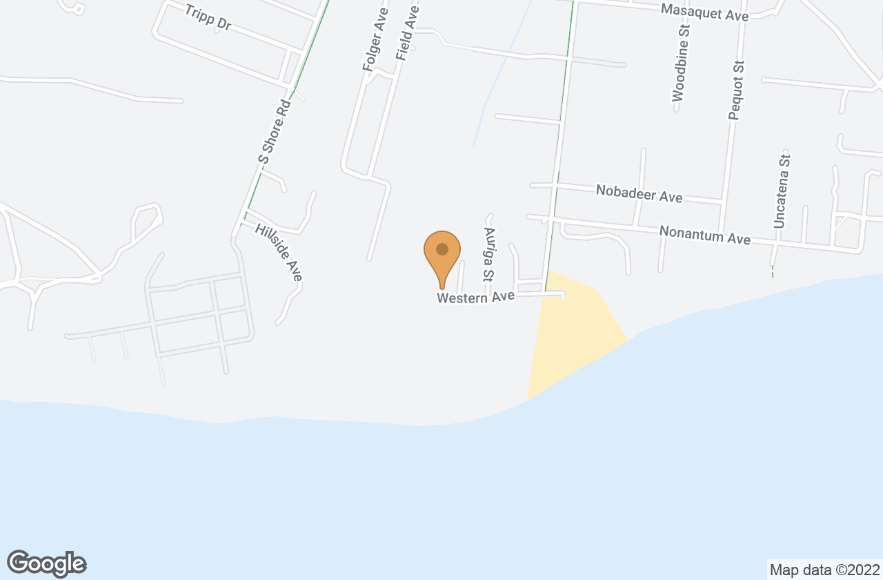Google Map of 31 Western Avenue, Nantucket, MA, USA