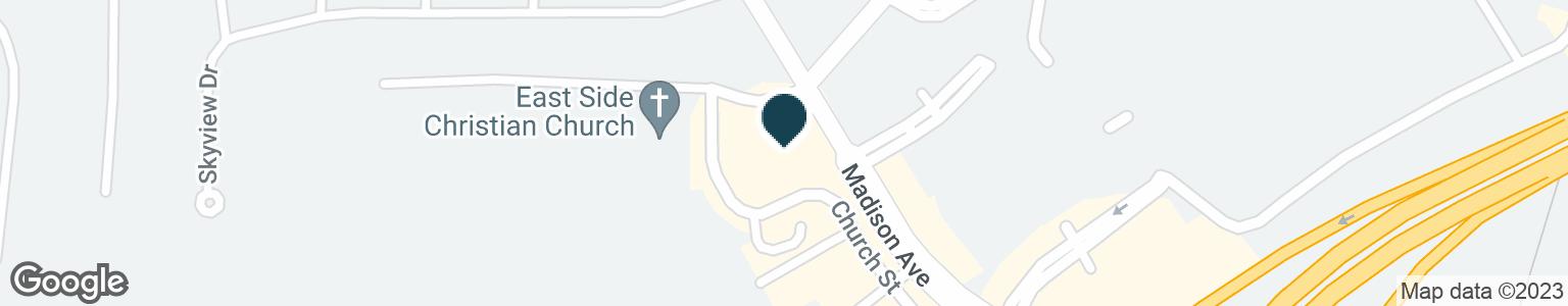 Google Map of301 W BENNETT AVE