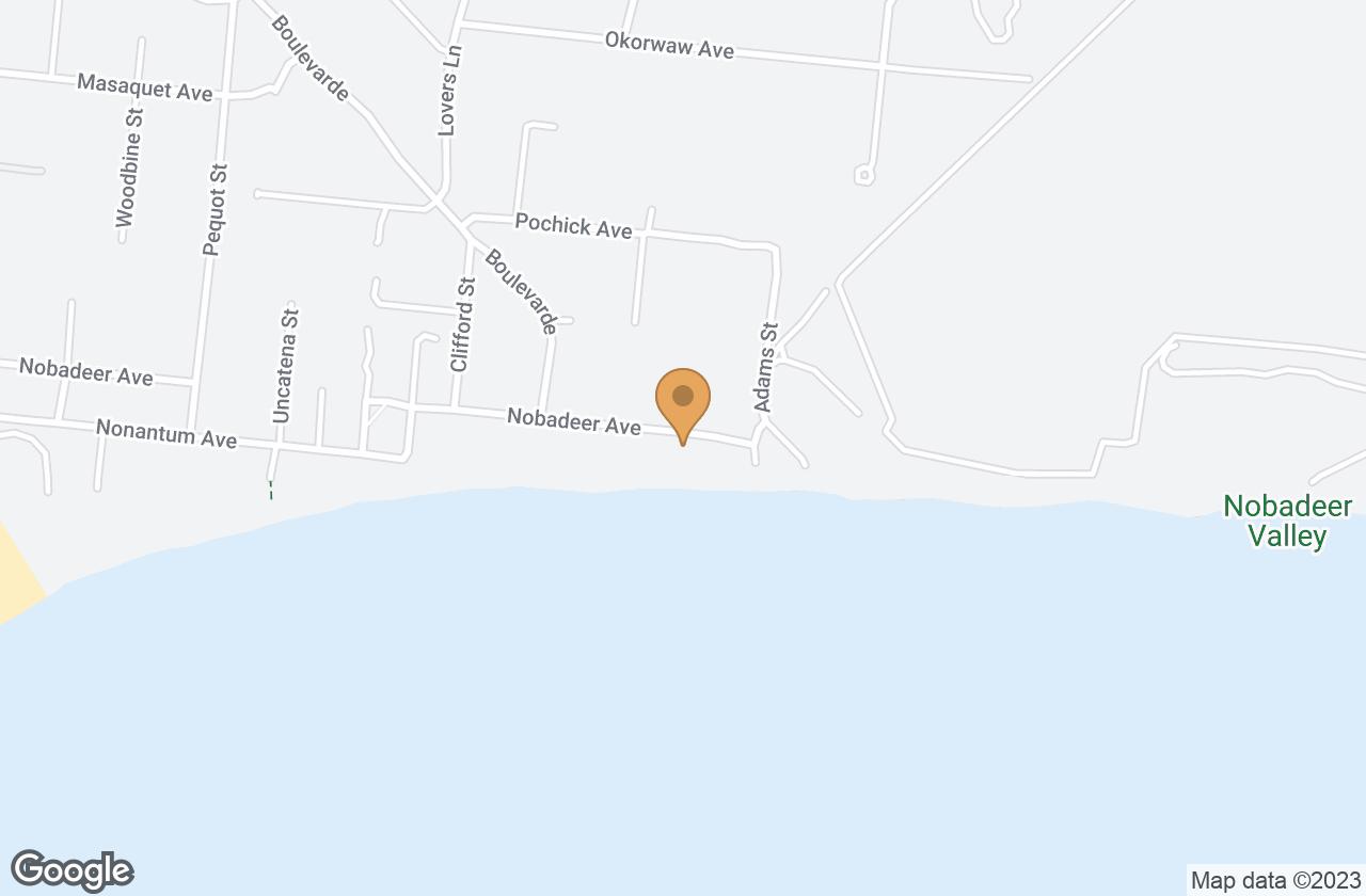 Google Map of 63 Nobadeer Avenue, Nantucket, MA, USA
