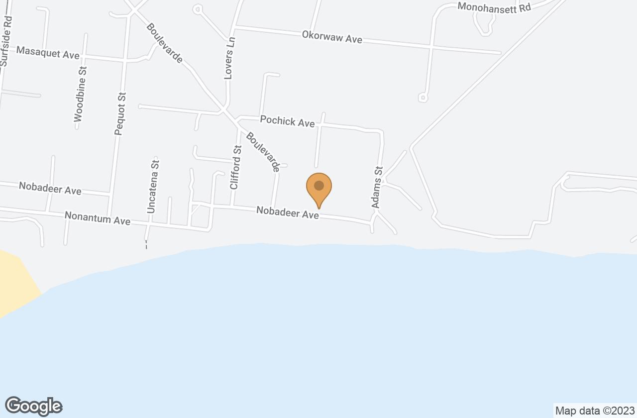 Google Map of 60 Nobadeer Avenue, Nantucket, MA, USA