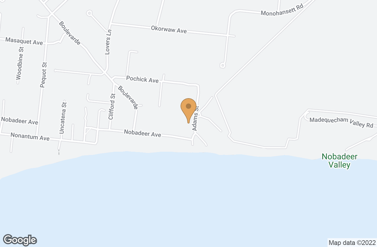 Google Map of 68 Nobadeer Avenue, Nantucket, MA, USA