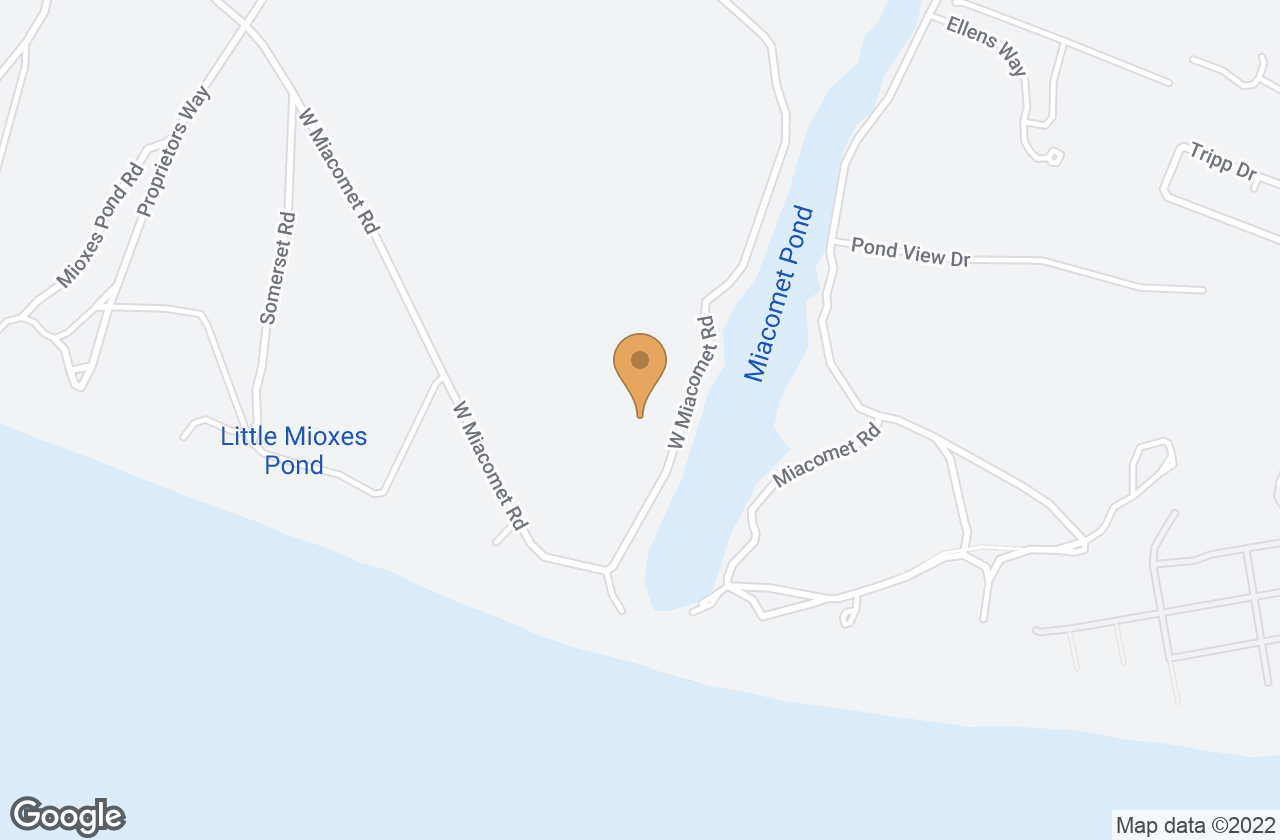 Google Map of 41 West Miacomet Rd