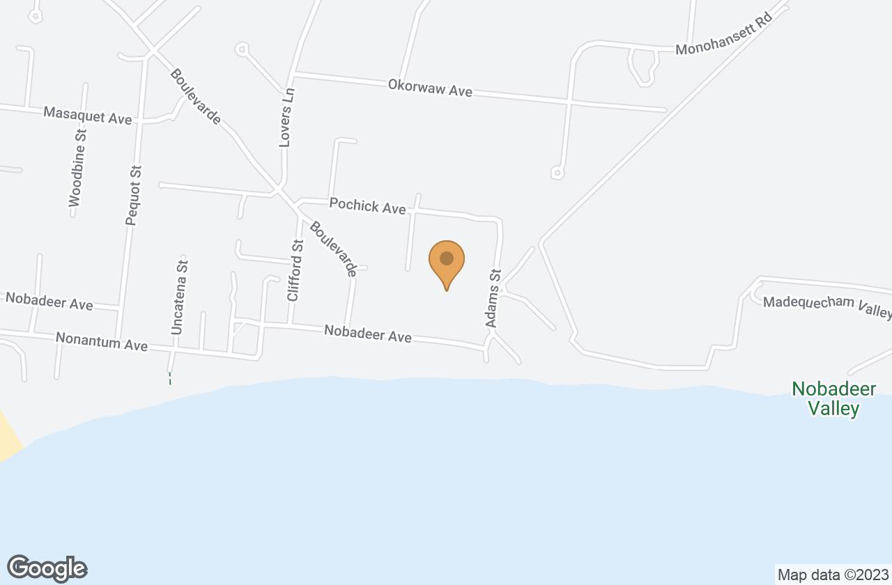 Google Map of 51W Weweeder Avenue, Nantucket, MA, USA