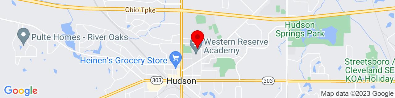 Google Map of 41.2466259, -81.4359771