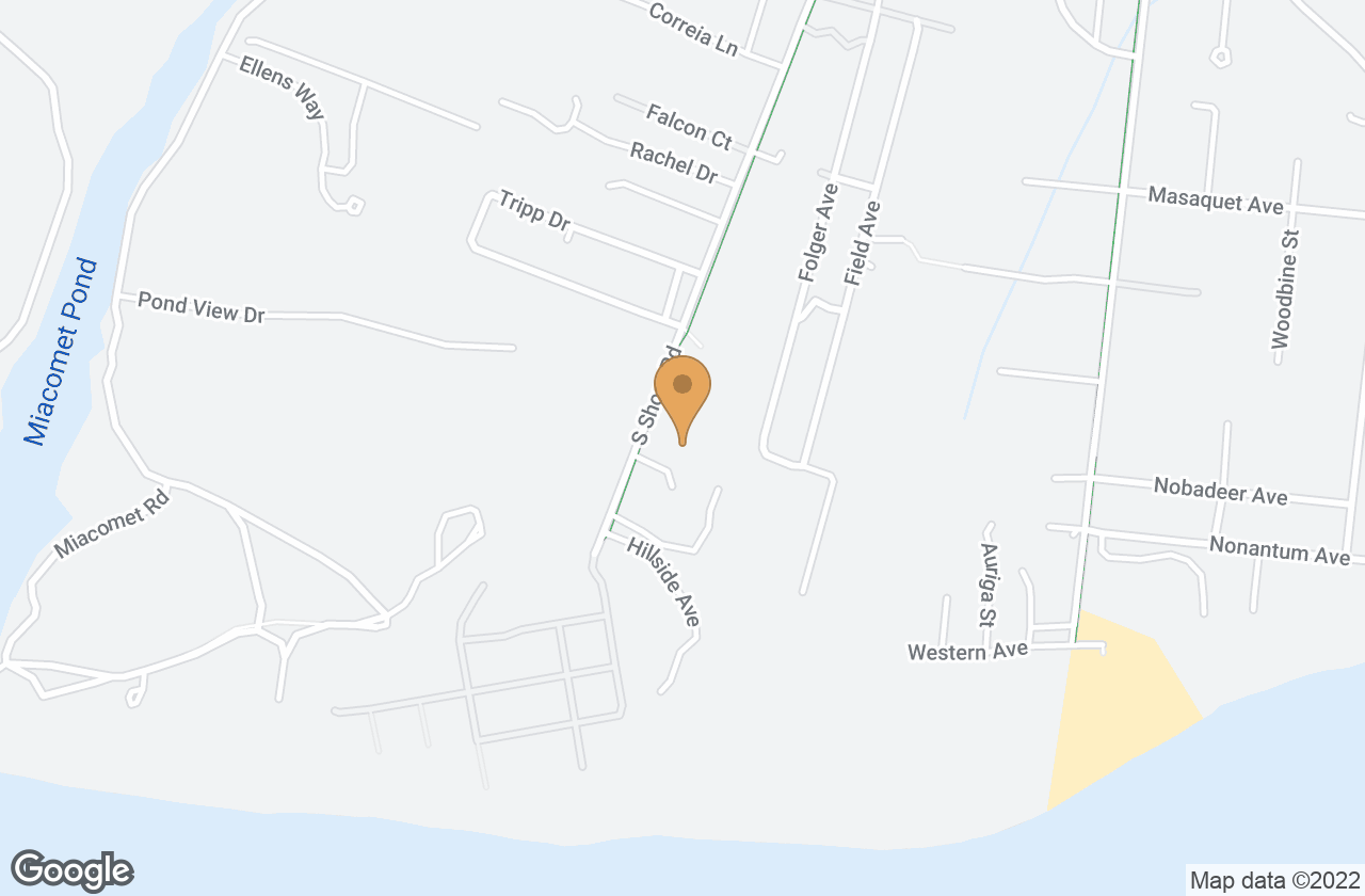 Google Map of 66 South Shore Road, Nantucket, MA, USA