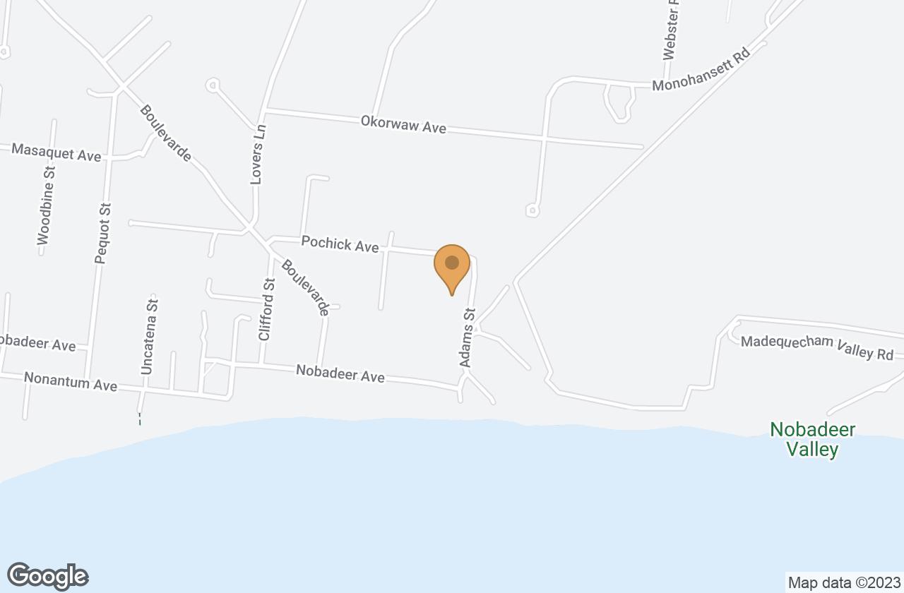 Google Map of 71 Pochick Avenue, Nantucket, MA, USA