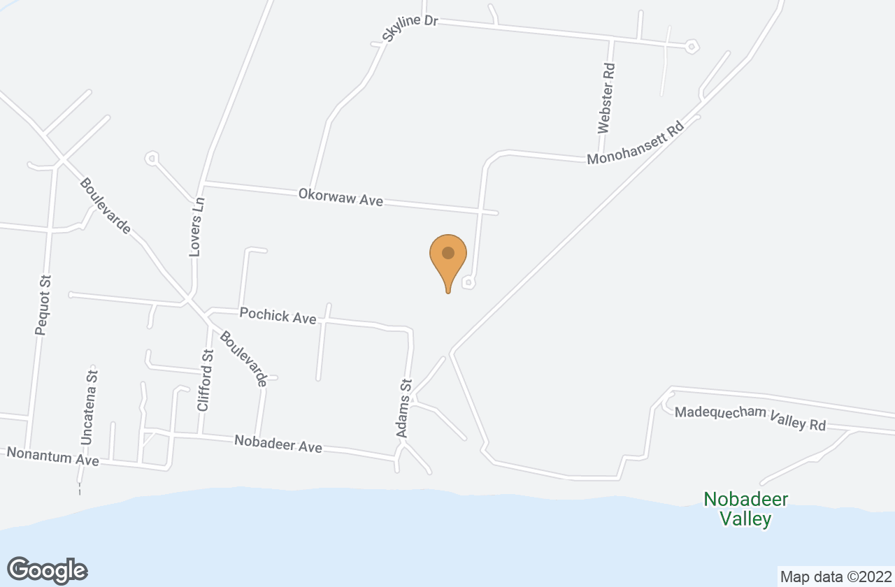Google Map of 1 Waterview Drive, Nantucket, MA, USA