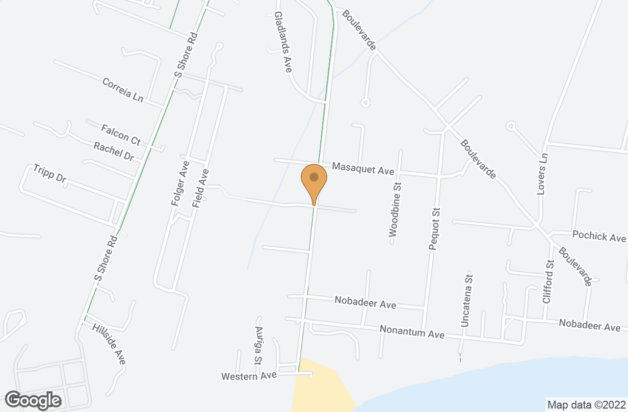 Google Map of 1 Pochick Ave