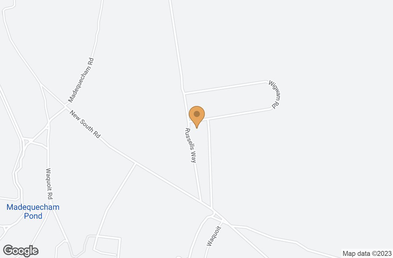 Google Map of 30 Russells Way, Nantucket, MA, USA