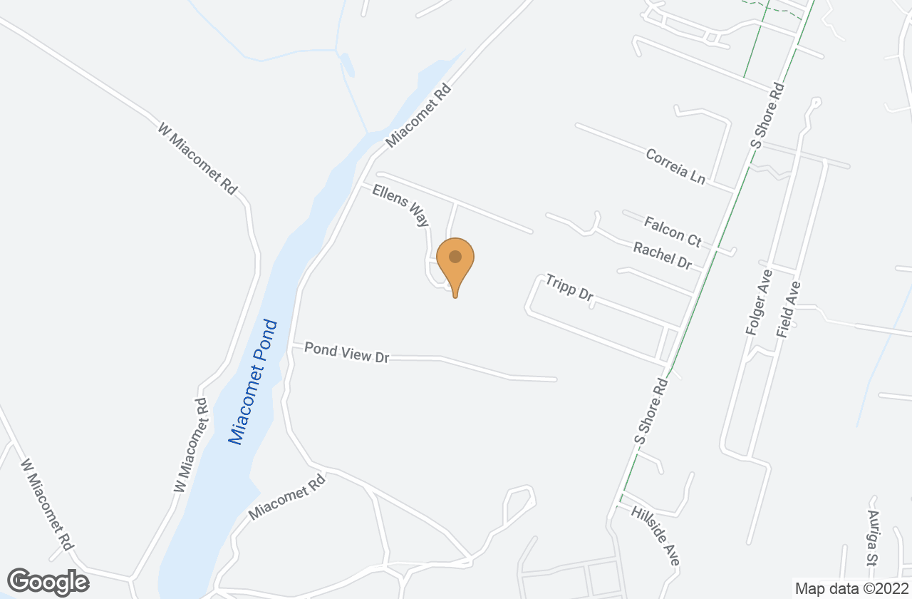 Google Map of 25  Ellens Way, Nantucket, MA, USA