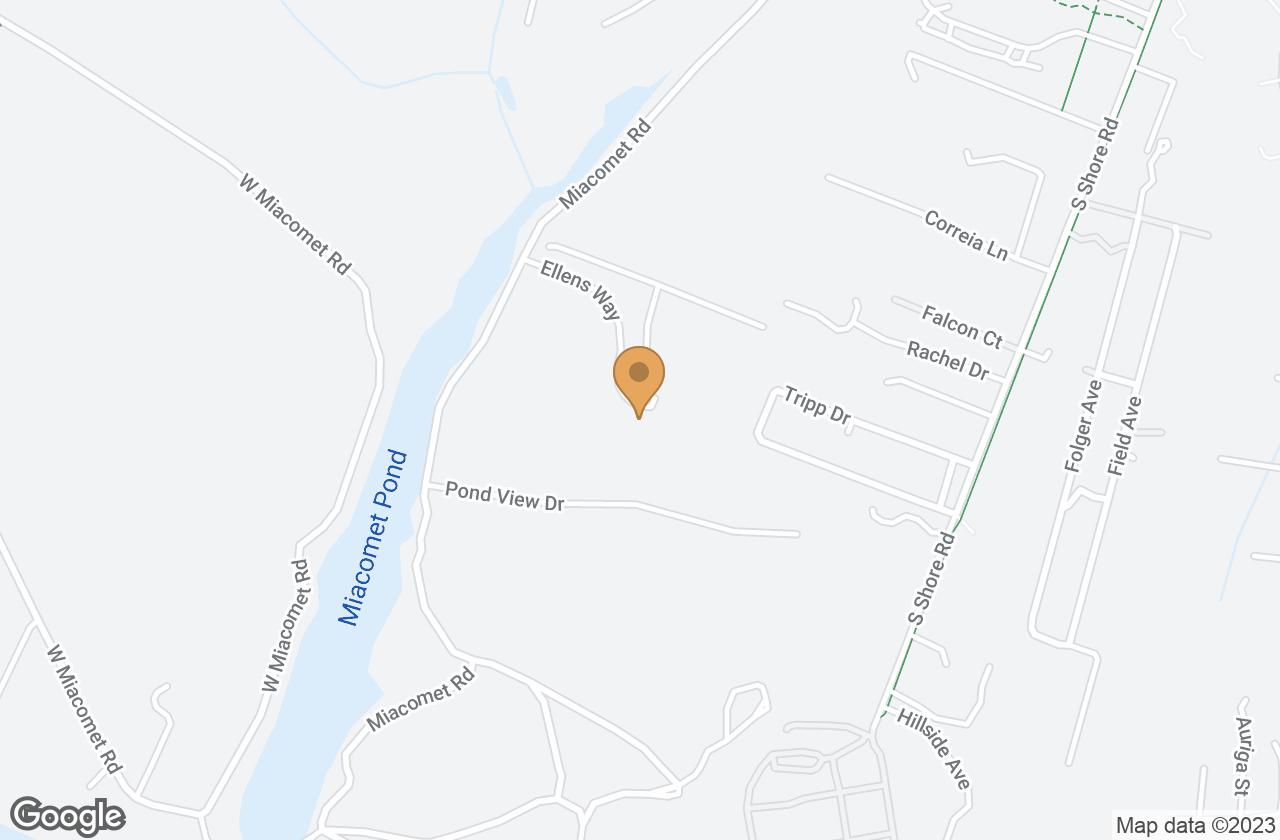 Google Map of 23 Ellens Way, Nantucket, MA, USA
