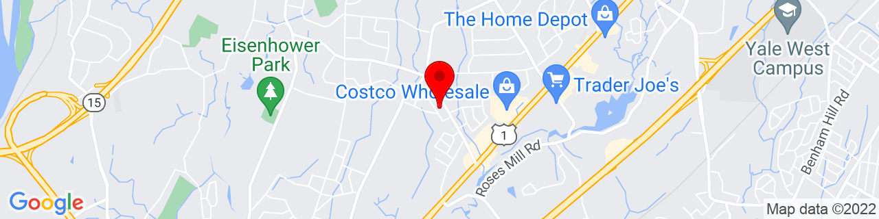 Google Map of 41.2507566, -73.0322712