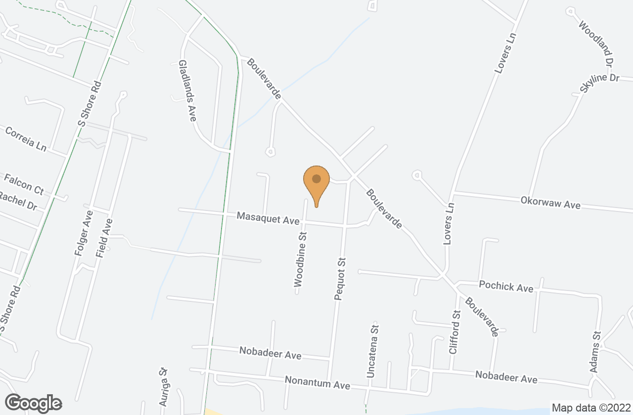 Google Map of 24 Masaquet Avenue, Nantucket, MA, USA