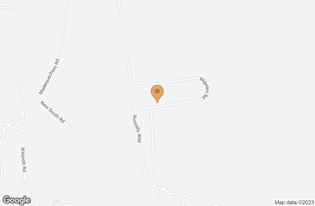 Google Map of 37 Wigwam Rd