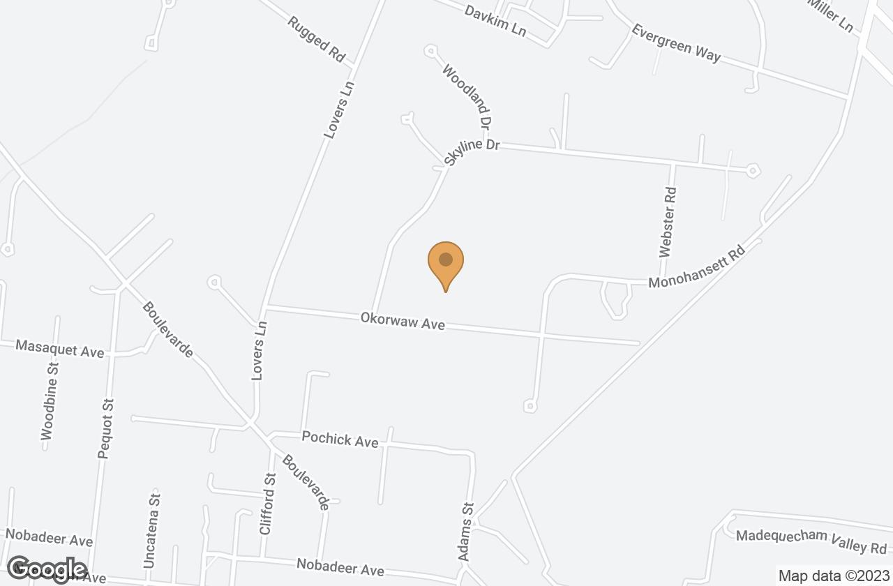 Google Map of 26 Okorwaw Avenue, Nantucket, MA, USA