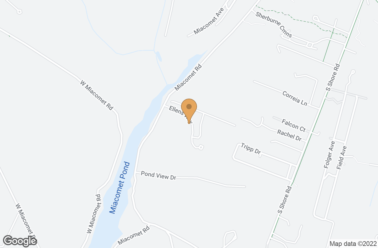 Google Map of 8 Ellens Way, Nantucket, MA, USA