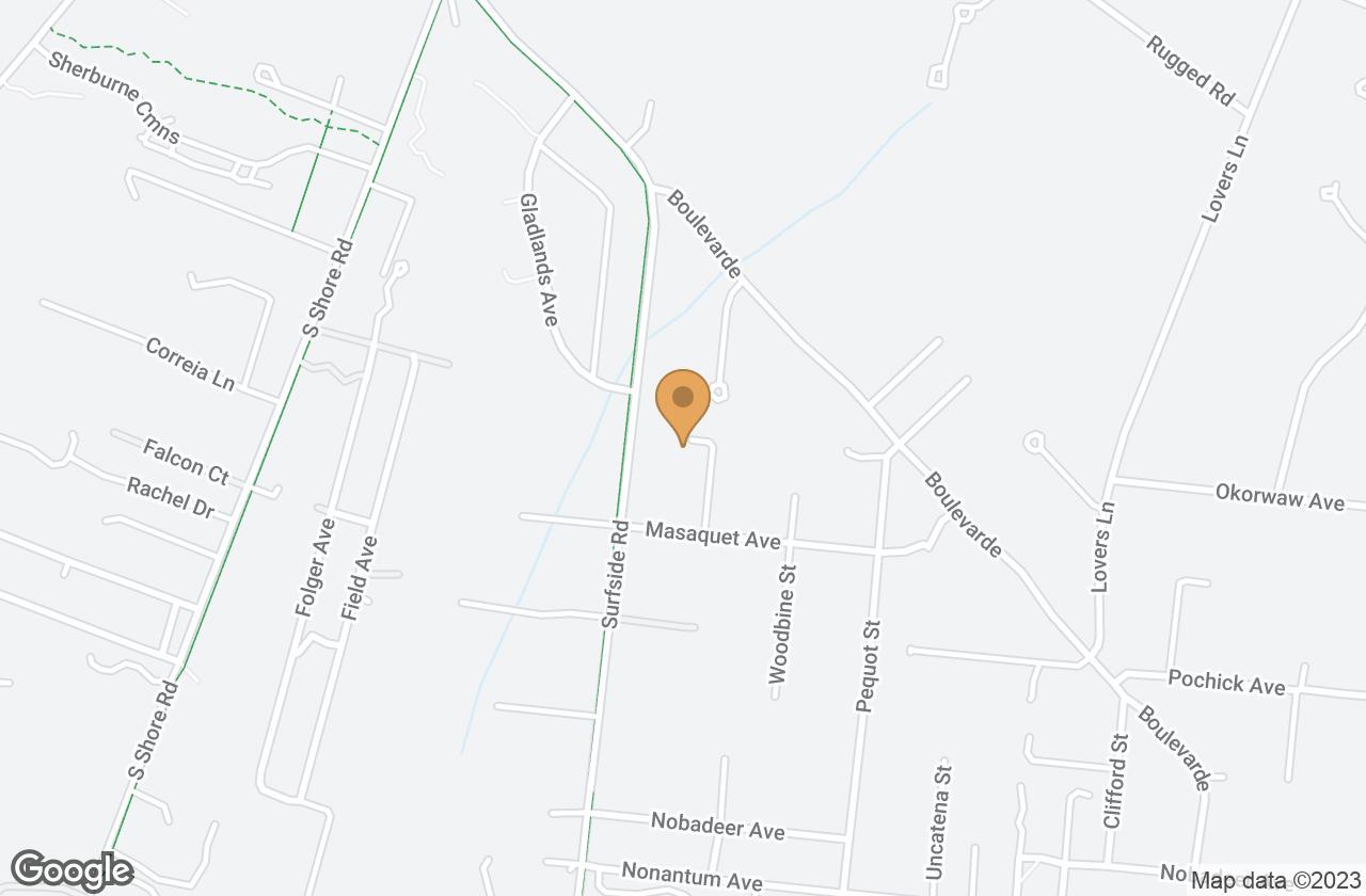 Google Map of 26 Naushon Way, Nantucket, MA, USA