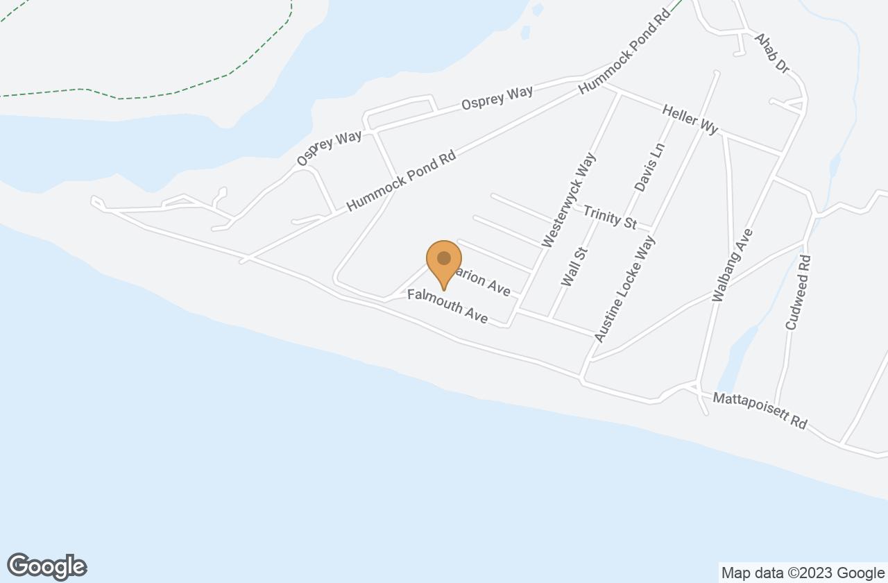 Google Map of 9 Falmouth Avenue, Nantucket, MA, USA