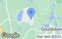 Map of Gouldsboro, PA